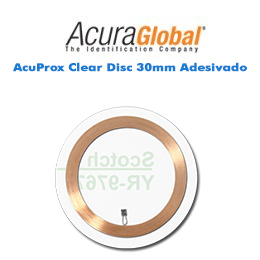 AcuProx Clear Disc 30mm Adesivado