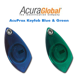 AcuProx Keyfob Blue & Green