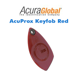 AcuProx Keyfob Red