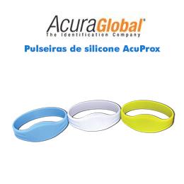 Pulseiras de silicone AcuProx